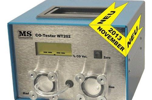 CO Abgastester für GAS Motoren an PKW, Bus und Gabelstapler 12Volt